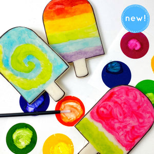 summer paint your own popsicles new