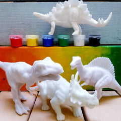 dinosaur toys in a box, dinosaur crafts for toddlers