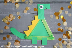 dinosaur popsicle craft