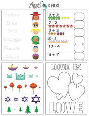 Printables for kids diversity