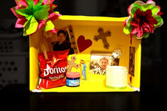 shoebox altar for day of the dead