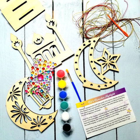 Ramadan decoration, Ramadan crafts for kids