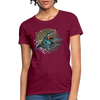 King fisher Women's T-Shirt - burgundy