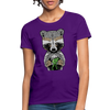 Racoon Women's T-Shirt - purple