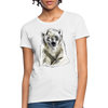 Polar Bear Women's T-Shirt - white