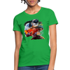 River Trout Women's T-Shirt - bright green