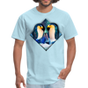 Penguin Men's T-Shirt - powder blue