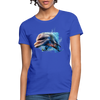 Dolphin Women's T-Shirt - royal blue
