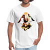 Goat t-shirt - Animal Face T-Shirt - white