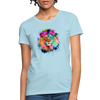 Lion with mane Women's T-Shirt - powder blue