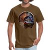 Turkey t-shirt - Animal Face T-Shirt - brown