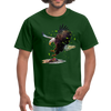 Eagle t-shirt - Animal Face T-Shirt - forest green