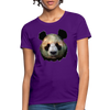 Panda Women's T-Shirt - purple