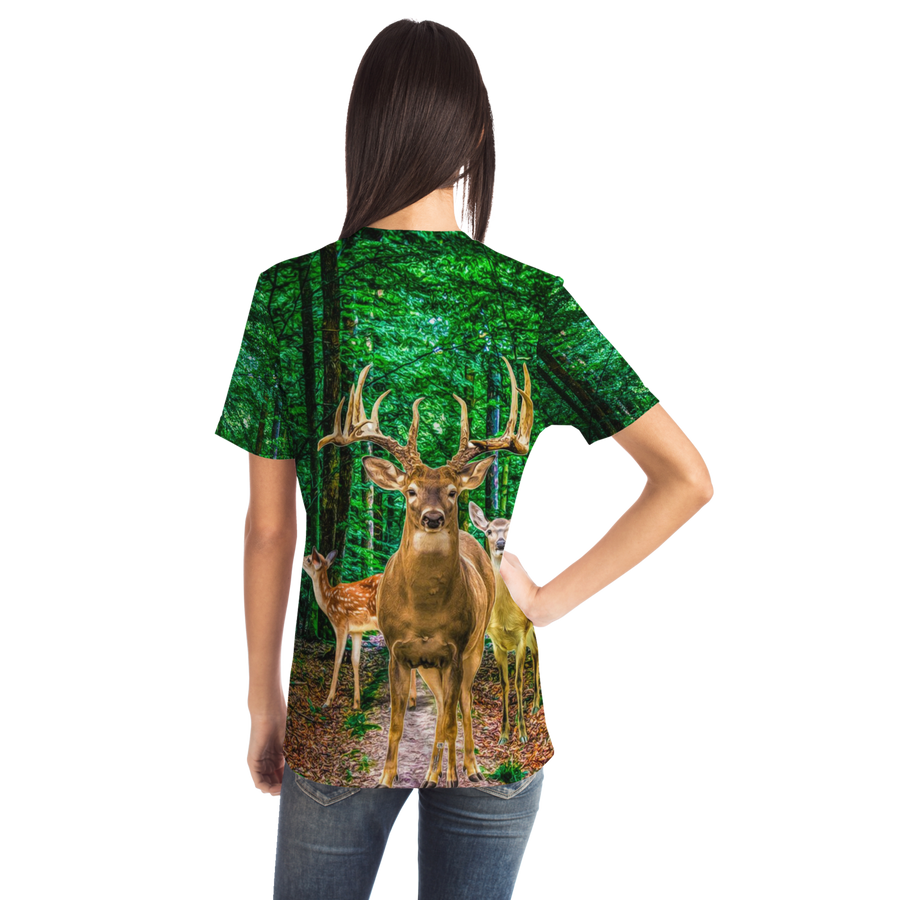 Deer Unisex All over print t-shirt