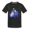 Shark Kid's Premium Organic T-Shirt - black