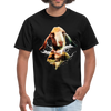 Goat t-shirt - Animal Face T-Shirt - black