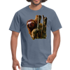 Sloth t-shirt - Animal Face T-Shirt - denim