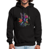 Flying Hummingbird Men's Hoodie - black