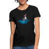 Jumping shark Women's T-Shirt - black