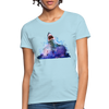 Shark Women's T-Shirt - powder blue