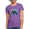 Dolphin Women's T-Shirt - purple heather