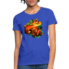 Snake Women's T-Shirt - royal blue