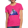 Shark Women's T-Shirt - fuchsia