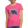 Dolphin Women's T-Shirt - heather pink