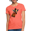 Giraffe Women's T-Shirt - heather coral