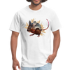Mouse t-shirt - Animal Face T-Shirt - white