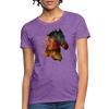 Horse Women's T-Shirt - purple heather