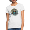 King fisher Women's T-Shirt - white