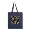 Tiger Tote Bag - navy