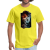 Gorilla t-shirt - Animal Face T-Shirt - yellow