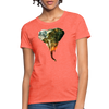 Elephant Women's T-Shirt - heather coral