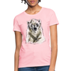 Polar Bear Women's T-Shirt - pink