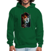 Thinking gorilla hoodie - Animal Face Hoodie - forest green