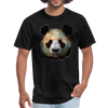 Panda t-shirt - Animal Face T-Shirt - black