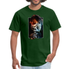 Gorilla t-shirt - Animal Face T-Shirt - forest green