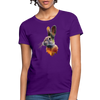 Rabbit Women's T-Shirt - purple