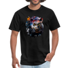 Black panther t-shirt - Animal Face T-Shirt - black