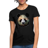 Panda Women's T-Shirt - black