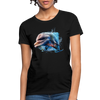 Dolphin Women's T-Shirt - black