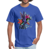 Flying Hummingbird Men's T-Shirt - royal blue