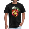 Watercolor tiger t-shirt - black