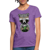 Racoon Women's T-Shirt - purple heather
