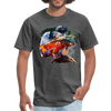 River trout t-shirt - Animal Face T-Shirt - heather black