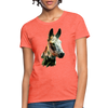 Donkey Women's T-Shirt - heather coral