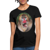 Mandrill Monkey Women's T-Shirt - black