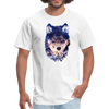 Wolf  t-shirt - Animal Face T-Shirt - white
